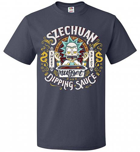 Rick And Morty Szechuan Nugget Dipping Sauce Unisex T-Shirt Pop Culture Graphic Tee (