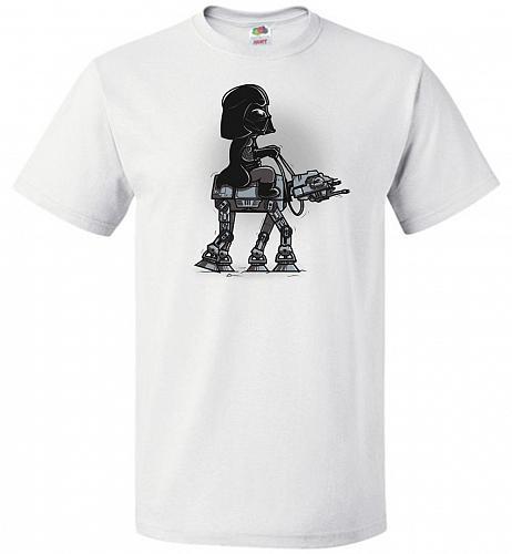 Dark Walker Unisex T-Shirt Pop Culture Graphic Tee (3XL/White) Humor Funny Nerdy Geek