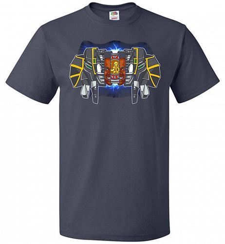 Black Ranger Unisex T-Shirt Pop Culture Graphic Tee (3XL/J Navy) Humor Funny Nerdy Ge