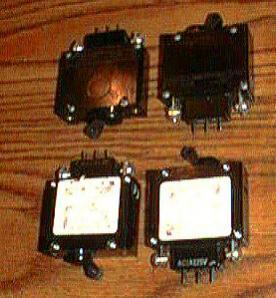 Lot of 4: Carlingswitch BA1-B2-14-640-521-D :: FREE Shipping