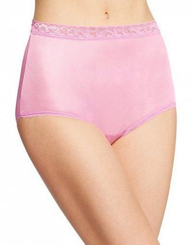 12 Pair Hanes Women's Nylon Brief Panties #PP70AS sizes 6-10 NEW!