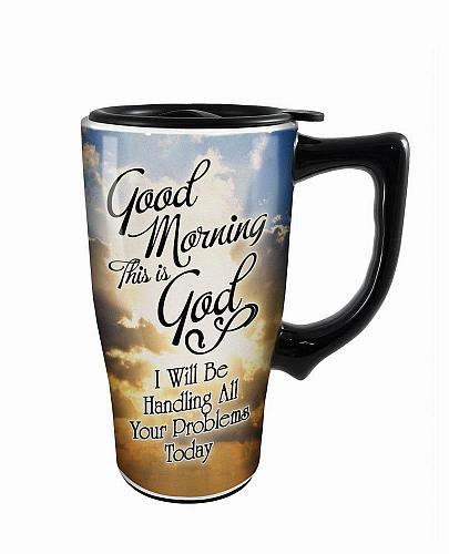 :10732U - Good Morning Travel Mug