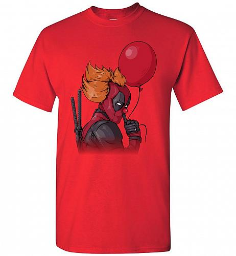 IT is Deadpool Unisex T-Shirt Pop Culture Graphic Tee (2XL/Red) Humor Funny Nerdy Gee