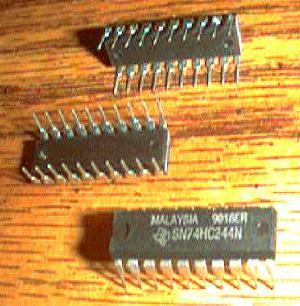 Lot of 20: Texas Instruments SN74HC244N