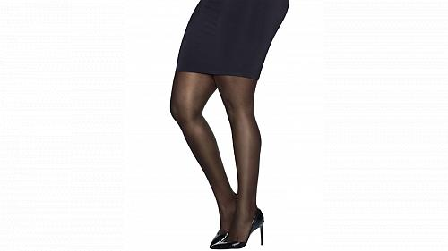 4 pair Just My Size Ultra-Sheer Run-Resistant Pantyhose #Q81104