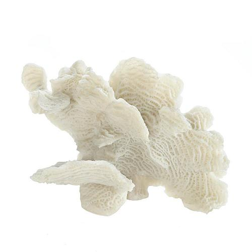 *17838U - Large White Coral Tabletop Décor Accent