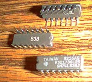 Lot of 16: Texas Instruments SN74LS38J KS21736L25