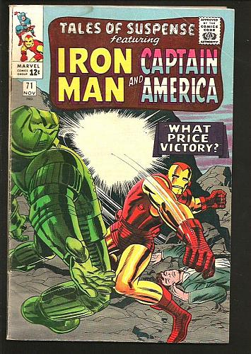 Tales of Suspense #71 Iron Man Capt. America 1965 Kirby Stan Lee Heck Wally Wood