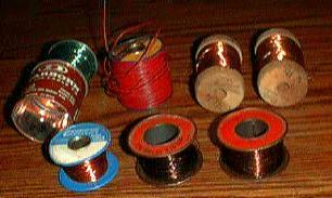 Lot: 7 Partial Reels of Wire Plus Loose Pile :: FREE Shipping