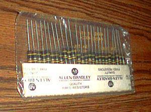 25: Allen Bradley RCR32G240JS : 1W 24 Ohms Resistors
