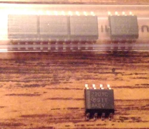 Lot of 5: Texas Instruments TLC2201CDG4 Operational Amplifiers