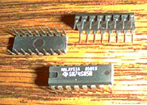 Lot of 17: Texas Instruments SN74S85N