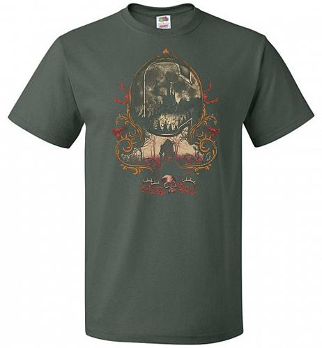 The Vampire's Killer Unisex T-Shirt Pop Culture Graphic Tee (XL/Forest Green) Humor F