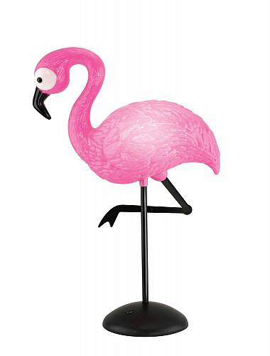 :10900U - Pink Flamingo Lamp LED Mood Lighting Battery Operated