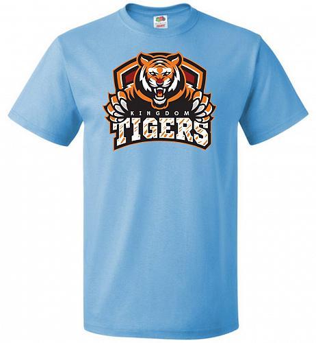 Walking Dead Kingdom Tigers Sports Parody Adult Unisex T-Shirt Pop Culture Graphic Te