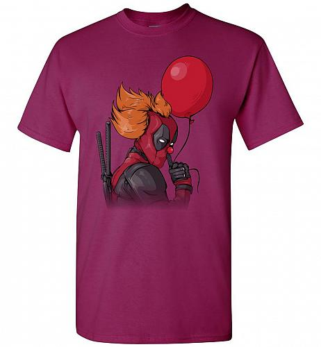 IT is Deadpool Unisex T-Shirt Pop Culture Graphic Tee (L/Berry) Humor Funny Nerdy Gee