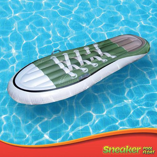 Inflatable Float Shoes Swimming Fun Sneaker Pool Party toy happy water beach