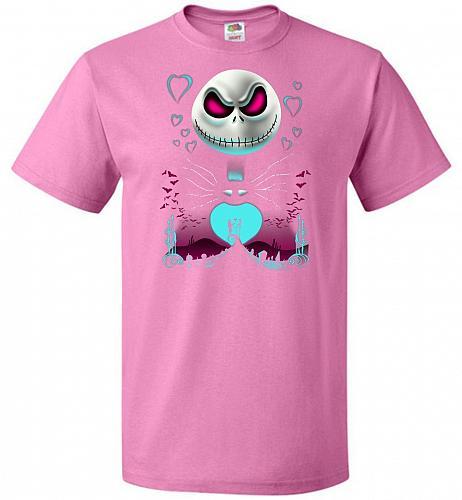 A Night of Love Unisex T-Shirt Pop Culture Graphic Tee (L/Azalea) Humor Funny Nerdy G