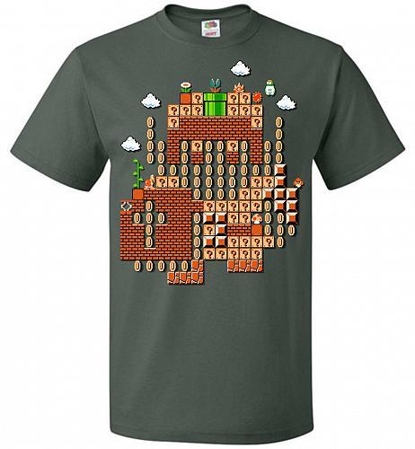 Legend Maker Unisex T-Shirt Pop Culture Graphic Tee (S/Forest Green) Humor Funny Nerd