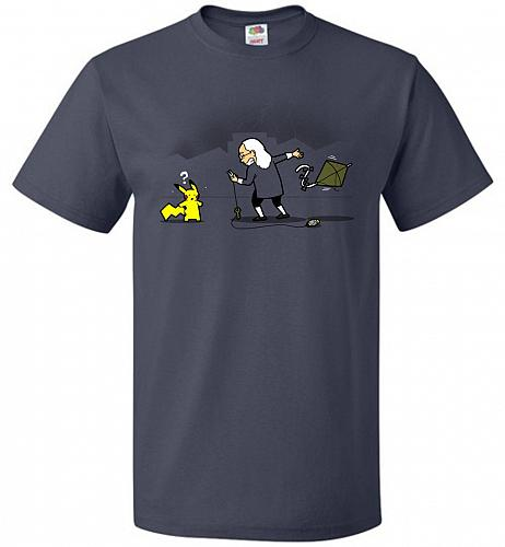 A Better Alternative Unisex T-Shirt Pop Culture Graphic Tee (L/J Navy) Humor Funny Ne