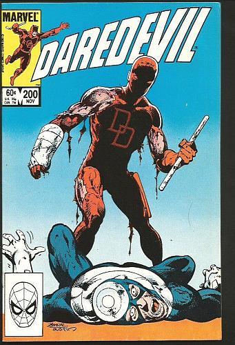 Daredevil #200 Fine + or better Marvel Comics 1983