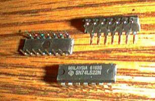Lot of 24: Texas Instruments SN74LS22N
