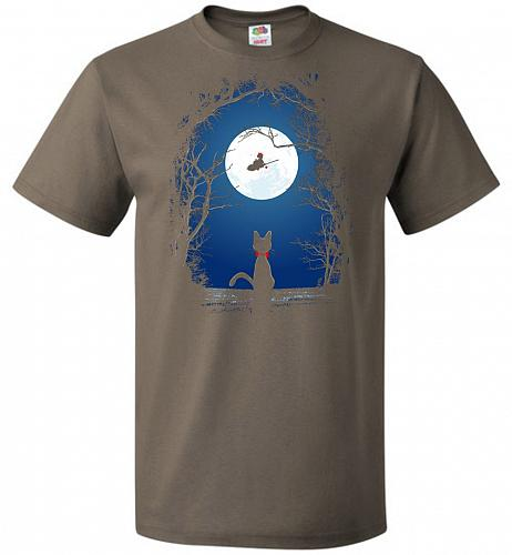 Fly With Your Spirit Unisex T-Shirt Pop Culture Graphic Tee (M/Safari) Humor Funny Ne