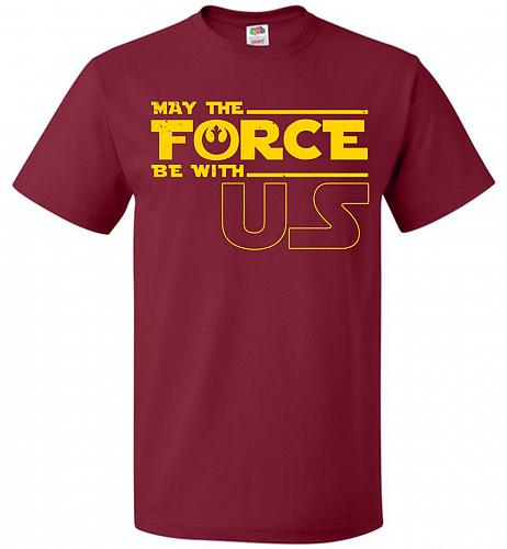 A Rogue's Wish Unisex T-Shirt Pop Culture Graphic Tee (6XL/Cardinal) Humor Funny Nerd