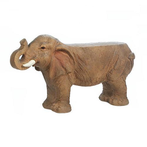 "*18343U - 31"" Small Elephant Bench Garden Yard Art"