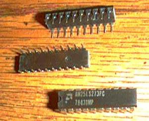 Lot of 9: AMD AM25LS273PC