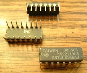 Lot of 21: Texas Instruments SN74LS166AJ KS22119L8