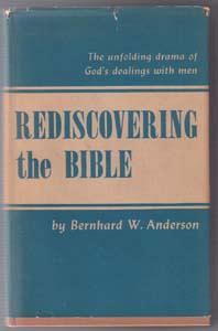 REDISCOVERING the BIBLE :: 1951 HB w/ DJ :: FREE Shipping