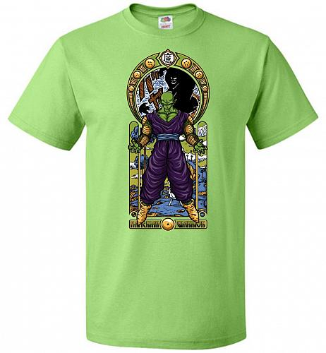 Namekian Warrior Unisex T-Shirt Pop Culture Graphic Tee (2XL/Kiwi) Humor Funny Nerdy