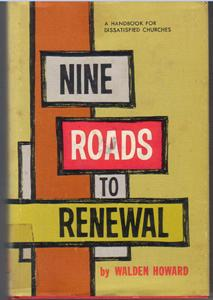 NINE ROADS TO RENEWAL :: Dissatisfied Churches Handbook :: FREE Shipping