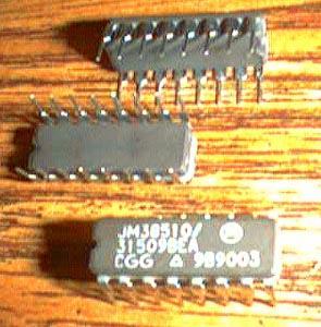 Lot of 6: Motorola JM38510/31509BEA