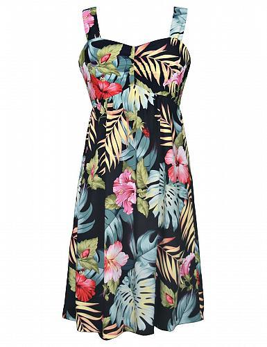 Ladies Moana Tropical Hawaiian Sundress SIZE: MED #W188O-EN