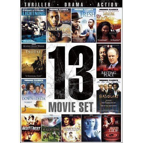 13movie DVD American Son,FRESH,Resting Place,SARAFINA,AugustKing,MOMENTUM,TSOTSI