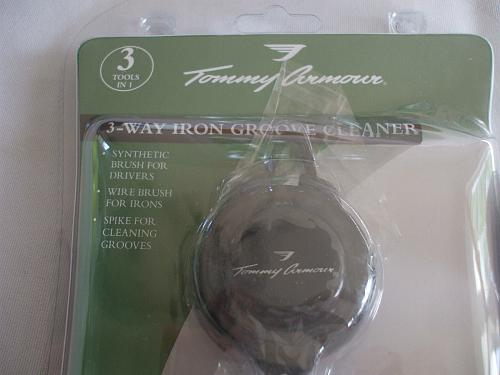 Tommy Armour 3 Way Iron Groove Cleaner Plus 3 Tommy Armour Golf Balls