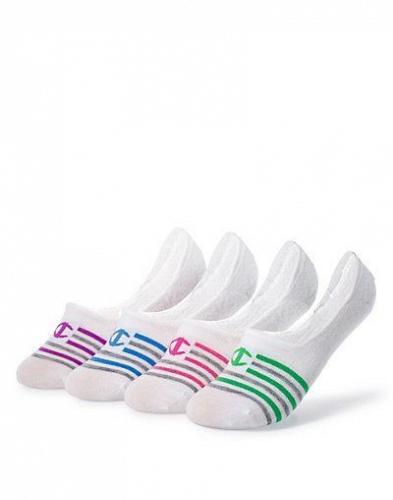8 Pair Champion Women's Performance Liner Stripe Socks #CH218