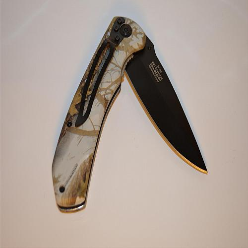 Tac-Force Spring Assisted Camo 764CA Folding Knife