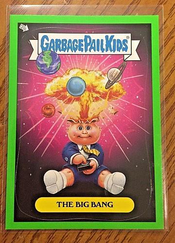 Garbage Pail Kids Bns 1 Green Border -The Adam Bomb- 1 Sticker 2012 GPK