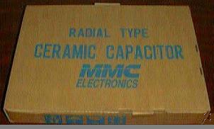 Lots of 2000: 50V 7.5pF Radial Type Ceramic Capacitors :: FREE Shipping
