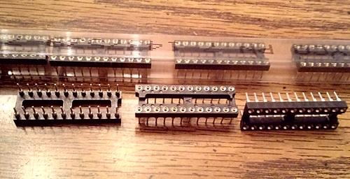 Lot of 90: Tyco 7-1437539-7 24 Position DIP Socket :: FREE Shipping