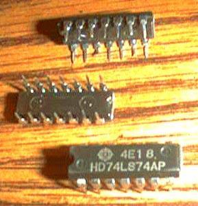 Lot of 20: Hitachi HD74LS74AP