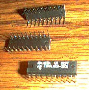 Lot of 20: Texas Instruments TIBPAL16L8-25CN