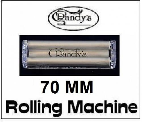 NEW! Randy's Roller - 70mm Cigarette Rolling Machine for single wide size papers