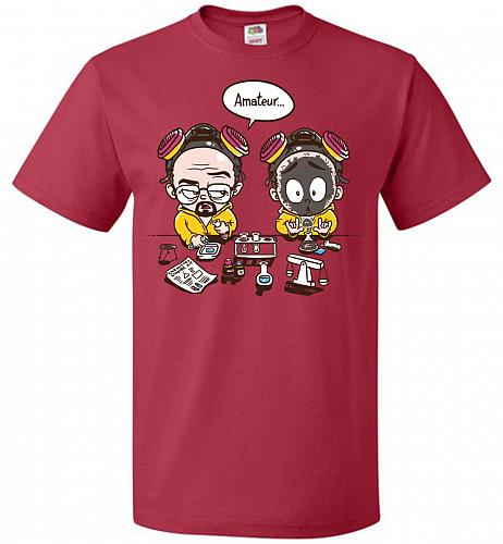 My First Science Kit Unisex T-Shirt Pop Culture Graphic Tee (S/True Red) Humor Funny