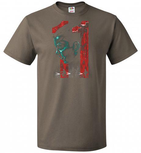 Eleven Unisex T-Shirt Pop Culture Graphic Tee (S/Safari) Humor Funny Nerdy Geeky Shir