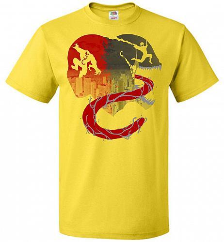 Spidey Sense Unisex T-Shirt Pop Culture Graphic Tee (S/Yellow) Humor Funny Nerdy Geek