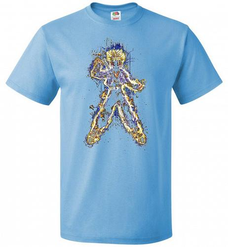 Mysterious Youth Trunks Unisex T-Shirt Pop Culture Graphic Tee (3XL/Aquatic Blue) Hum